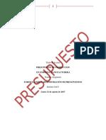 Ximena Paola Ortega Pacheco Tarea Semana 5 Presupuesto