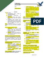 Ateneo 2007 Admin Law Simplified