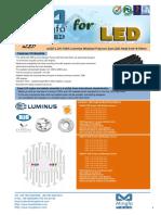 eLED-LUN-7080 Luminus Modular Passive Star LED Heat Sink Φ70mm.pdf