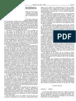 RD 1254-1999,por el que se aprueban medidas de control de los riesgos inherentes a los accidentes graves en los que intervengan sustancias peligrosas