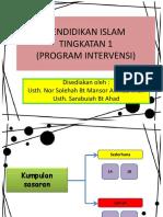 INTERVENSI PENDIDIKAN ISLAM T1 2017.ppt