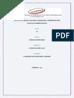 Actividad N° 04 Actividad informe de trabajo colaborativo I Unidad