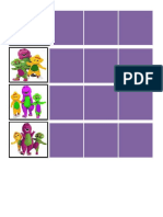 Barney Schedule Strips