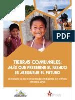 IBC. 2016. El Estado de Las Comunidades Indígenas en El Perú