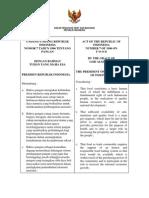 UU No 7 Tahun 1996 Tntng Pangan