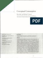 Ariely y Norton. (2009) Conceptual Consuption