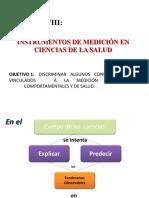 Instrumentos de Medición en Ciencias de La Salud