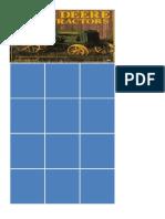 John Deere Activity Card Grid