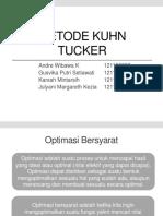 Tugas Astk [Metode Kuhn Tucker]