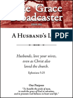 A Husband's Love - Free Grace Broadcaster