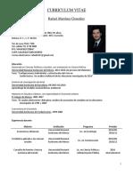 1. CV Rafael Martinez