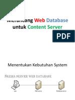 Merancang Web Database