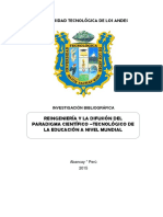 Monografía Reingenieria Educativa