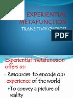 Experiential Metafunction Practical
