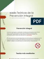 Bases Teóricas de La Prevención Integral