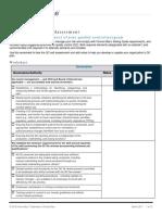 Qc Self Assessment Worksheet
