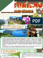 Ecoturismo DEFINICIONES BÁSICAS
