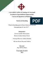 Marketing manejo de marcas Marca Puná - Calvas, Noriega, Herrera y Olivares