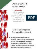 Kelainan Genetik Hemoglobin Fix