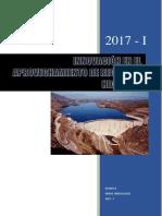 Informe Final Tecnologia en Aprovechamiento de Recursos Hidricos