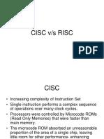 CISC v RISC