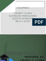 Chapter 1 Math stat