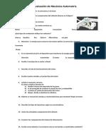 Cuestionario de Mecanica Automotriz