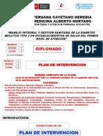 Tema Nº 5 I-2-5 Plan de Intervencion Para La Atencion Integral de La Dm II en Esni