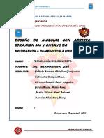 5º Informe Concreto-diseño de Mezcla Con Aditivo Sikamen-henricito