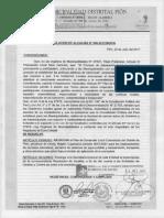 f) Plan de Desarrollo de GG.ll