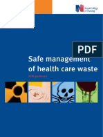 Safe Management of Health Care Waste