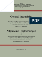 (International Series of Numerical Mathematics _ Internationale Schriftenreihe Zur Numerischen Mathematik _ Série Internationale d'Analyse Numérique 41) Richard Bellman (Auth.), E. F. Beckenbach (Eds.