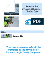 Personal Fall Protection Systems