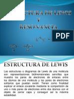 Estructura de Lewis Exposicion