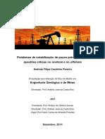 Problemas de Estabilização de Poços Petrolíferos