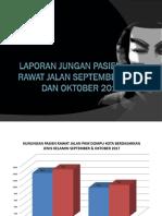 Laporan Jungan Pasie Rawat Jalan September Dan Oktober