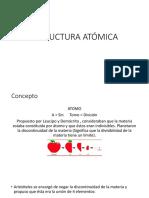 ESTRUCTURA ATÓMICA 1