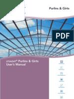Purlin and Girt Manual v2