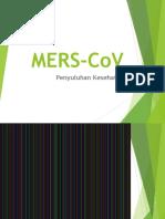 Materi MERS CoV PDF
