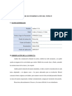 Ejemplo de Informe Del WPPSI IV