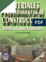 Apoyos Aislados y Corridos - Perez Alama - MEGA BIBLIOTECA . MB