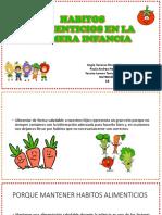 Habitos Alimenticios en La Primera Infancia