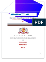 HCL CDC Project Report Final Copy