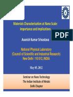 Dr A K Srivastva_NPL