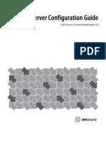 VMWare Servervi3!30!20 Server Config