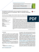 Development of liposomal and microemulsion formulations for transdermal delivery of clonazepam