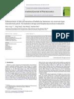 Enhancement of skin permeation of bufalin by limonene via reservoir type transdermal patch