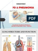 Copd & Pneumonia, Farmakoterapi