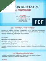 Gestion de Eventos Exposicion 4.9 4.10 Manuel