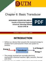 Ch6 Basic Transducers